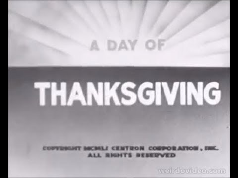 A Day of Thanksgiving - 1951