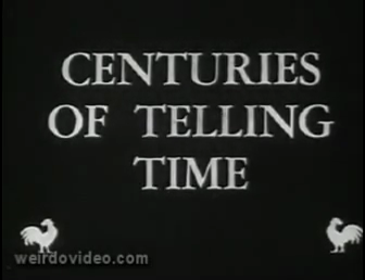 Centuries of Telling Time - 1957