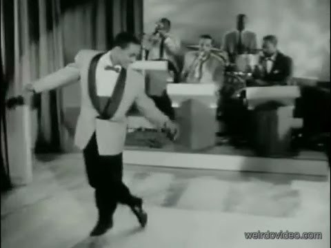 Amazing Tap Dancing with Little Buck - 1955