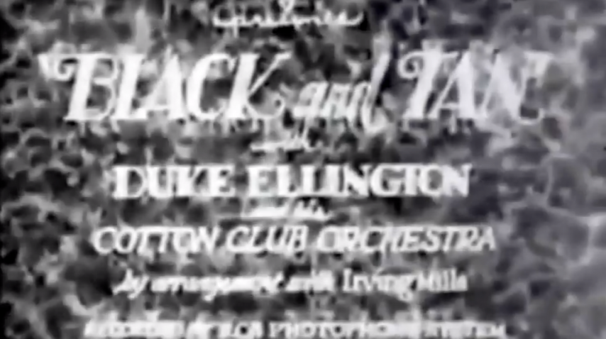Duke Ellington's Black and Tan - 1929