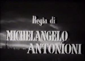Michelangelo Antonioni: Nettezza urbana - 1948