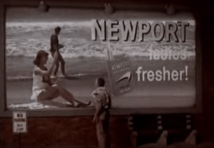 Newport Cigarette Commercial - 1960's