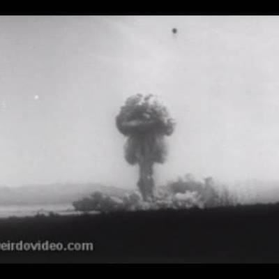 Military Science Tests Nukes - 1953