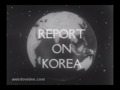 Report on Korea - 1953