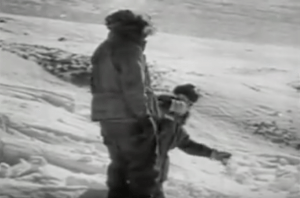 Newsreel: Arctic Ice Cap Adventure - 1957