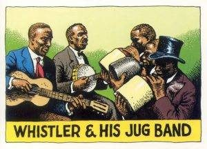 Whistler & His Jug Band by R. Crumb
