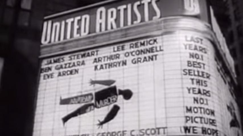 Anatomy Of A Murder World Premiere - 1959