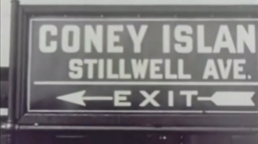 Coney Island, USA - 1952