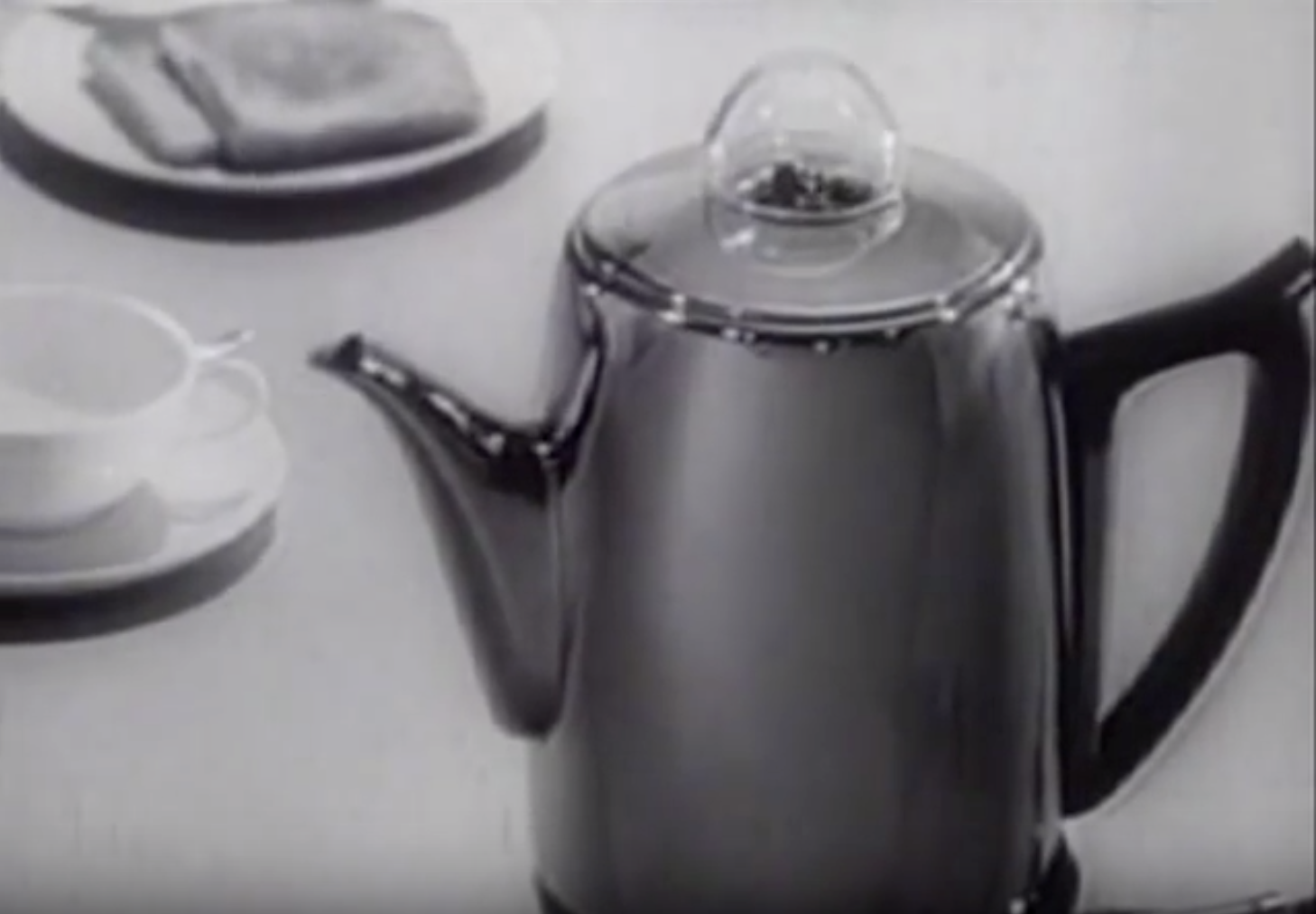 Time for Coffee: Singing Coffee Pot