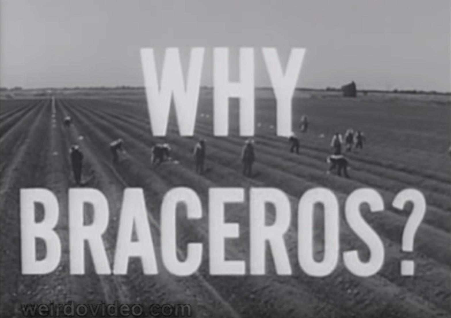 Why Braceros? - 1950's