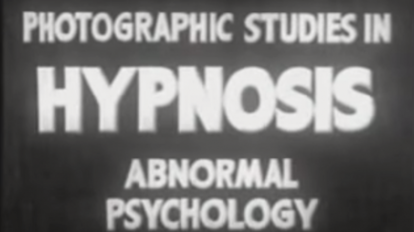 Photographic Studies in Hypnosis - 1940's