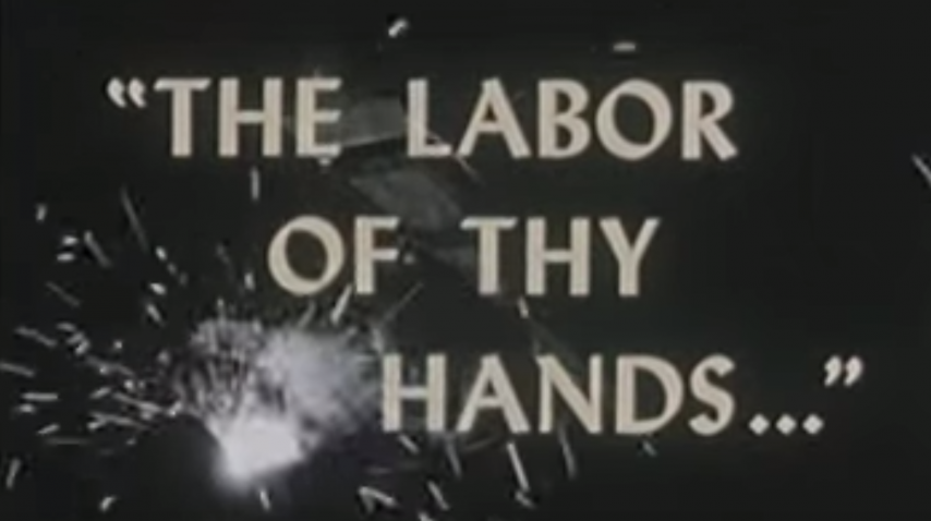 The Labor of Thy Hands ... - 1950's