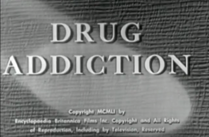 Drug Addiction - 1951