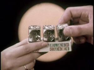 Kodak Instamatic Flash Cubes – 1960's