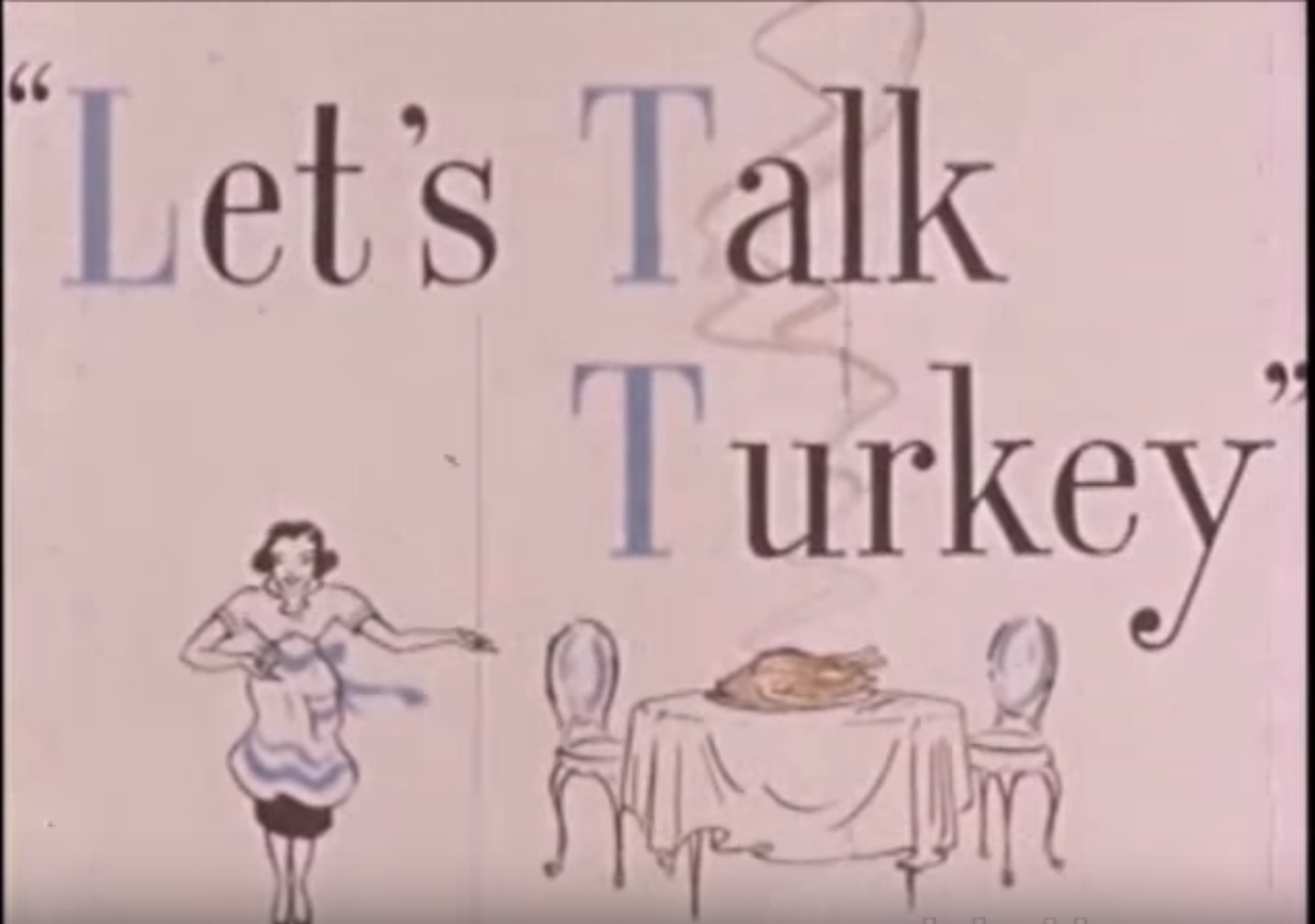 Let's Talk Turkey - 1955
