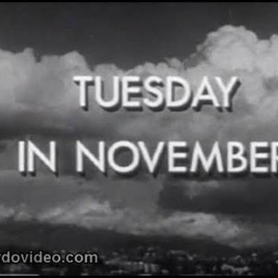 American Scene: Tuesday in November - 1945