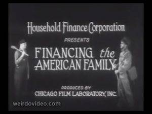Financing the American Family - 1935