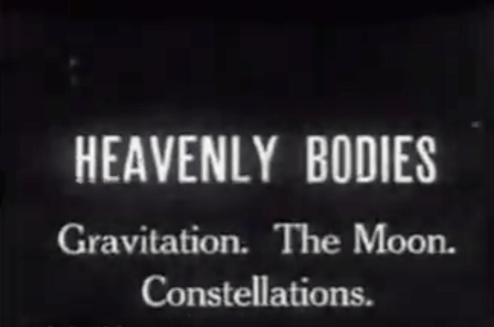 Heavenly Bodies - 1920
