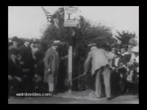 Lincoln Highway Groundbreaking - 1913