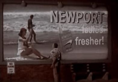 Newport Cigarette Commercial - 1960's