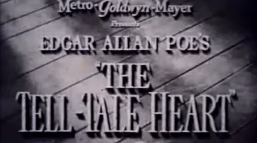 Edgar Allan Poe The Tell-Tale Heart - 1941