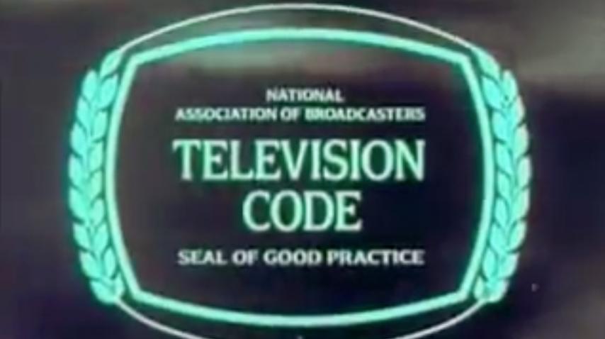 Dick Cavett: Television Code Seal of Good Practice - 196