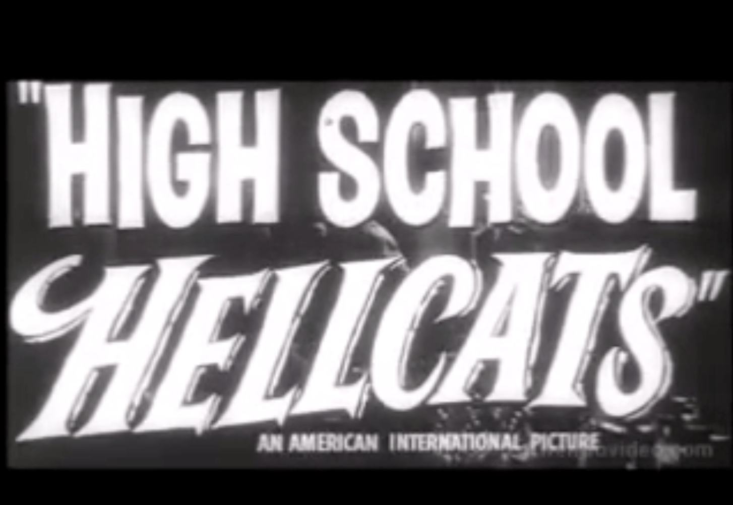 Trailer: High School Hellcats - 1958