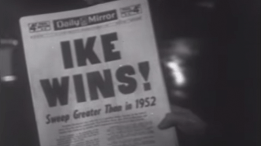 Newsreel: Ike Re-elected - 1956