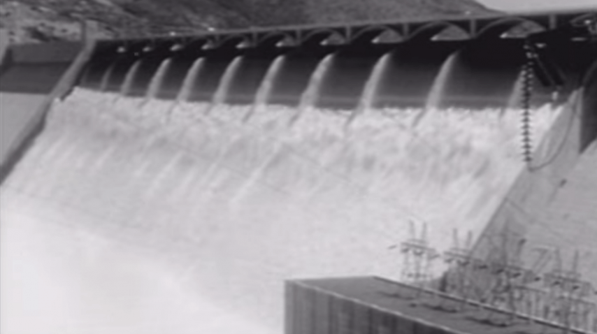 Newsreel: Grand Coulee Dam - 1953