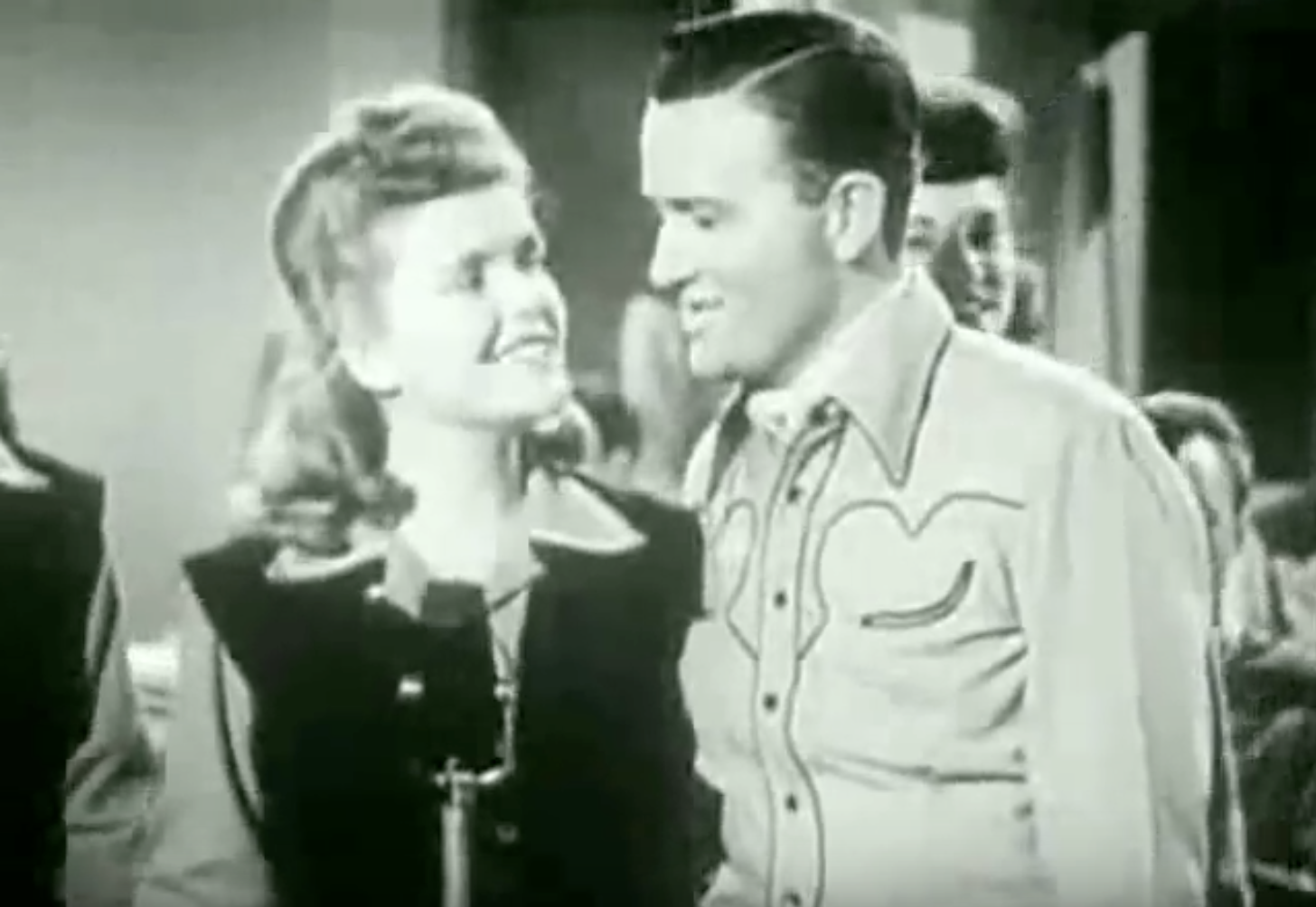 Jimmy Wakely & Mary Ford: You Are My Sunshine - 1940's