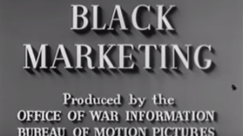 Black Marketing - 1940's