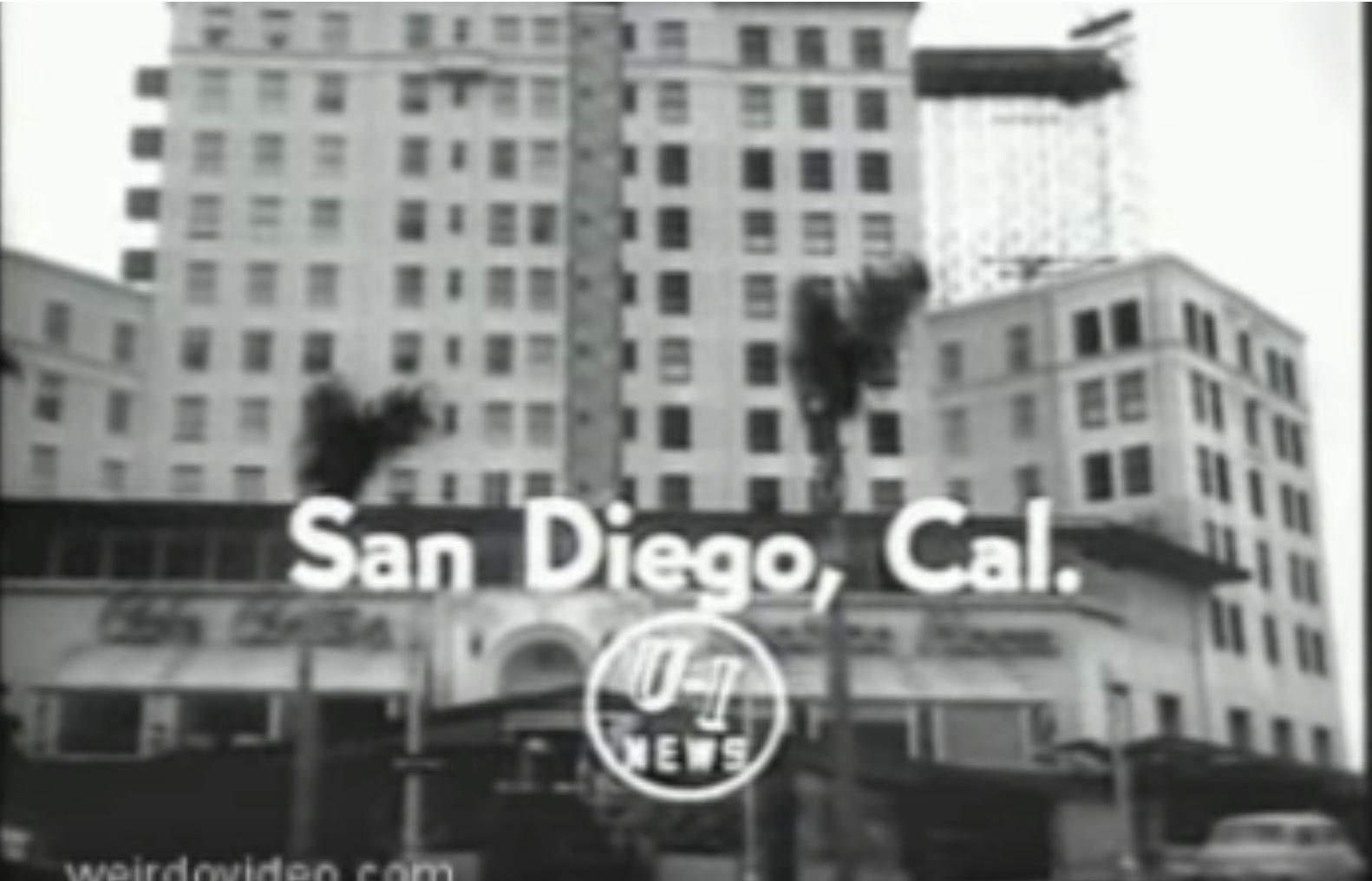 Newsreel: El Cortez Hotel Glass Elevator - 1956