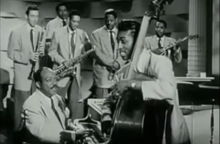 Count Basie: He Plays Bass in the Basie Band - 1955