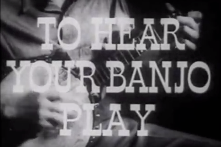 Pete Seeger: To Hear Your Banjo Play - 1947