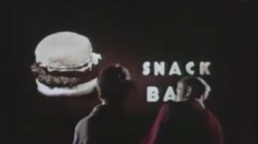 Drive-In: Subliminal Hamburgers - 1960s