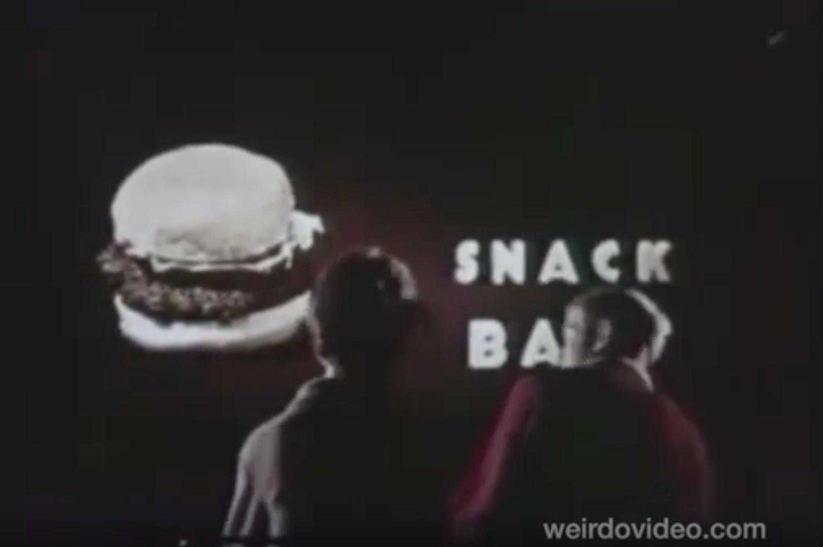 Drive-In: Subliminal Hamburgers - 1960s
