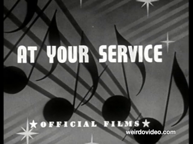 At Your Service - 1940s